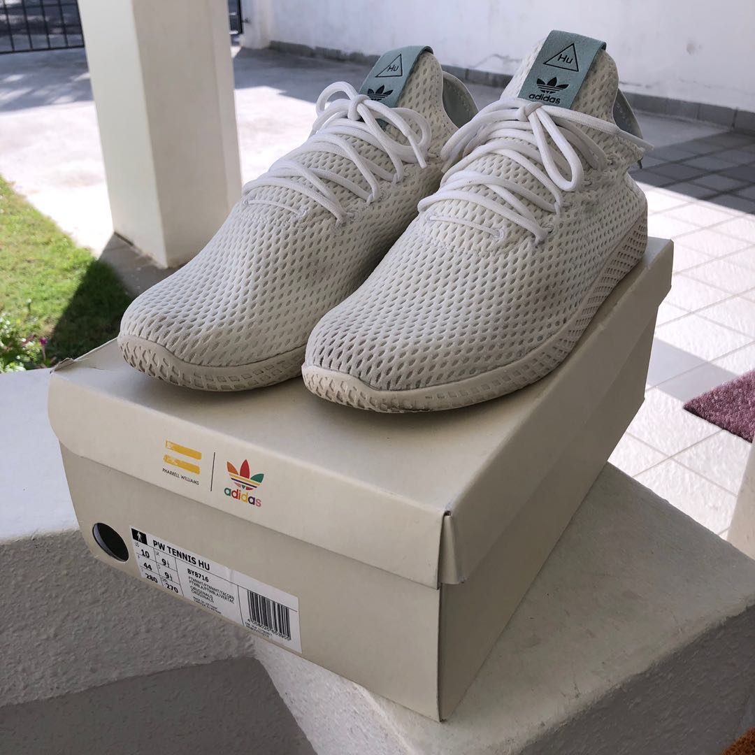 661836bb6 Adidas Originals X Pharrell Williams PW Tennis HU (White) - Pre ...
