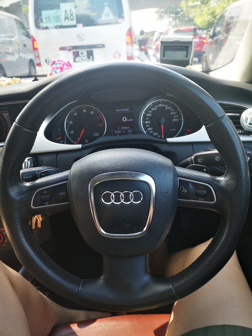 Audi A4 B8 Steering Wheel With Flappy Pedals Car Accessories Accessories On Carousell
