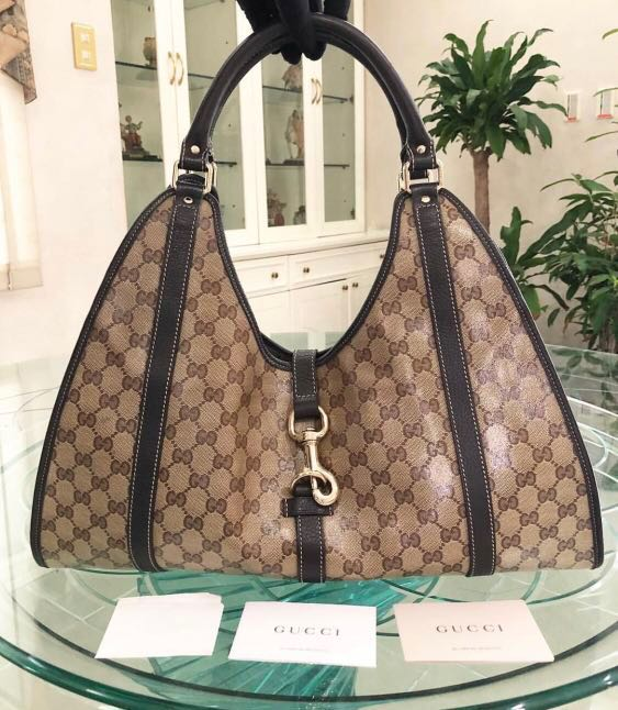 Authentic Gucci Monogram Hobo Bag 4b476e3670d26