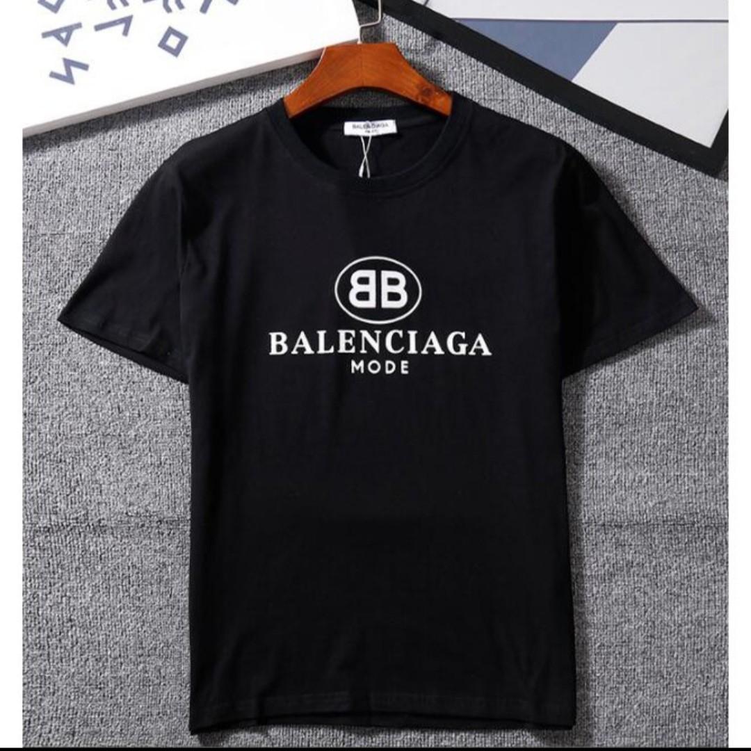 09246439 Balenciaga Mode Tee Shirt, Men's Fashion, Clothes, Tops on Carousell