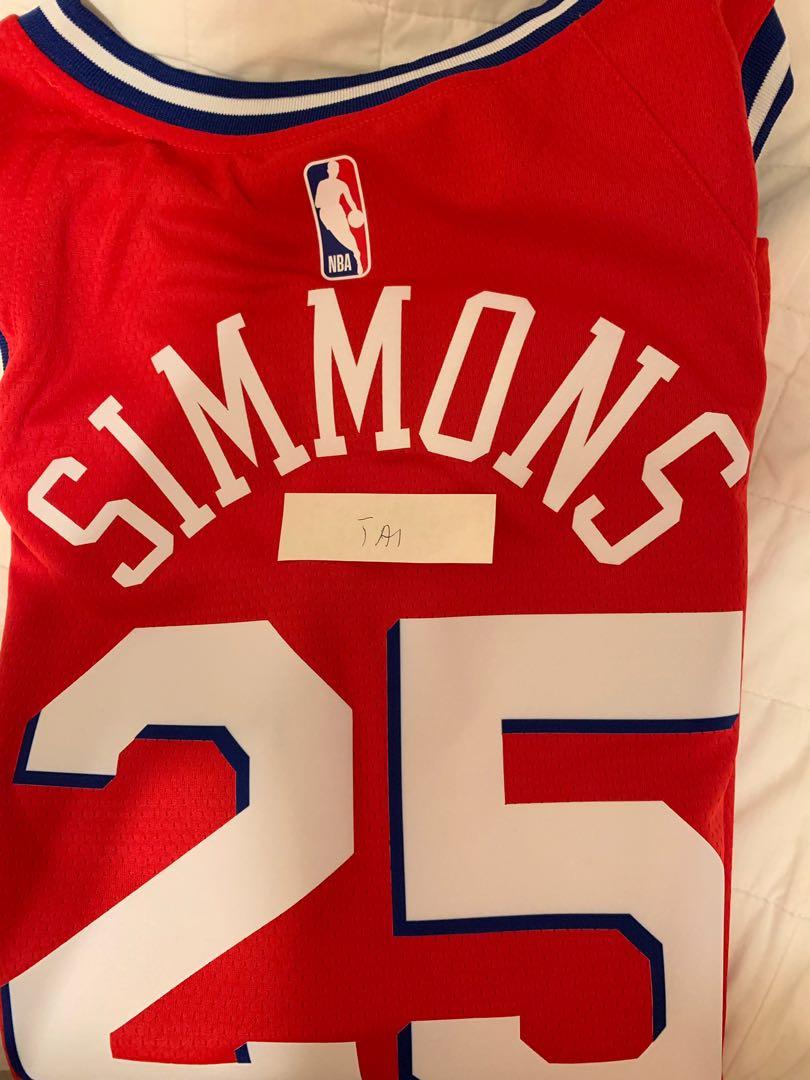 072d3f8fdfe Ben Simmons Nike Nba Swingman Jersey szL, Sports, Athletic & Sports ...