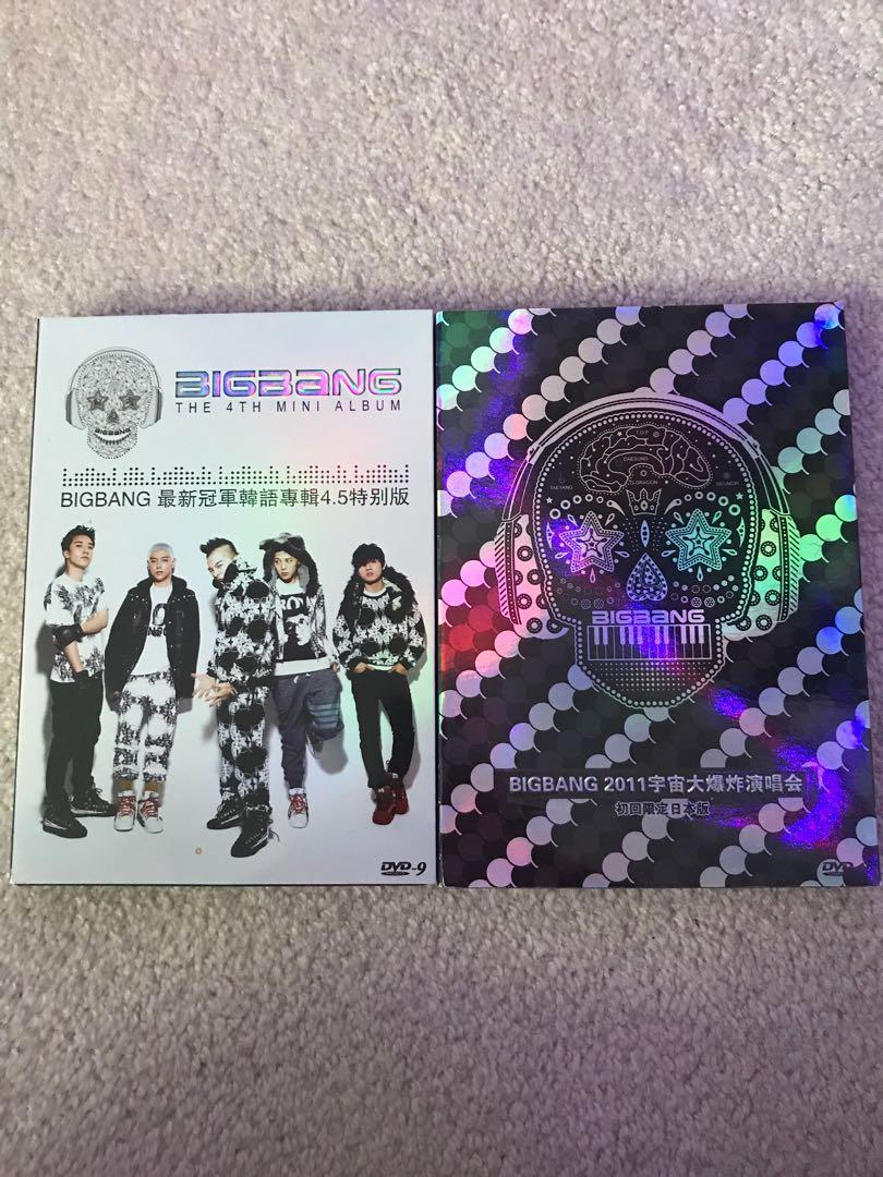 Bigbang 2011 4th album un-official tour DVDs. 1 for $10 or both for $15