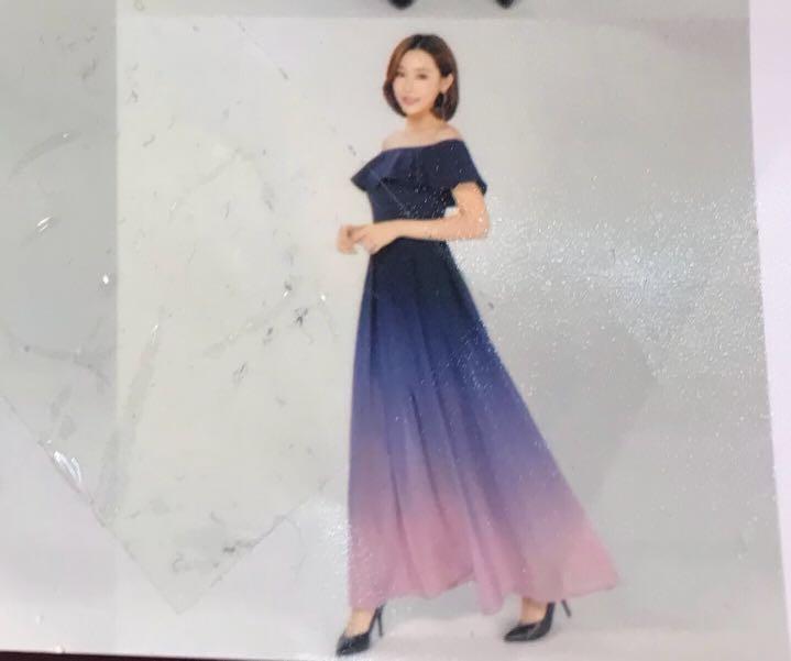 6f1f554865e Bnwt Off Shoulder Ombre Dress Womens Fashion Clothes Dresses