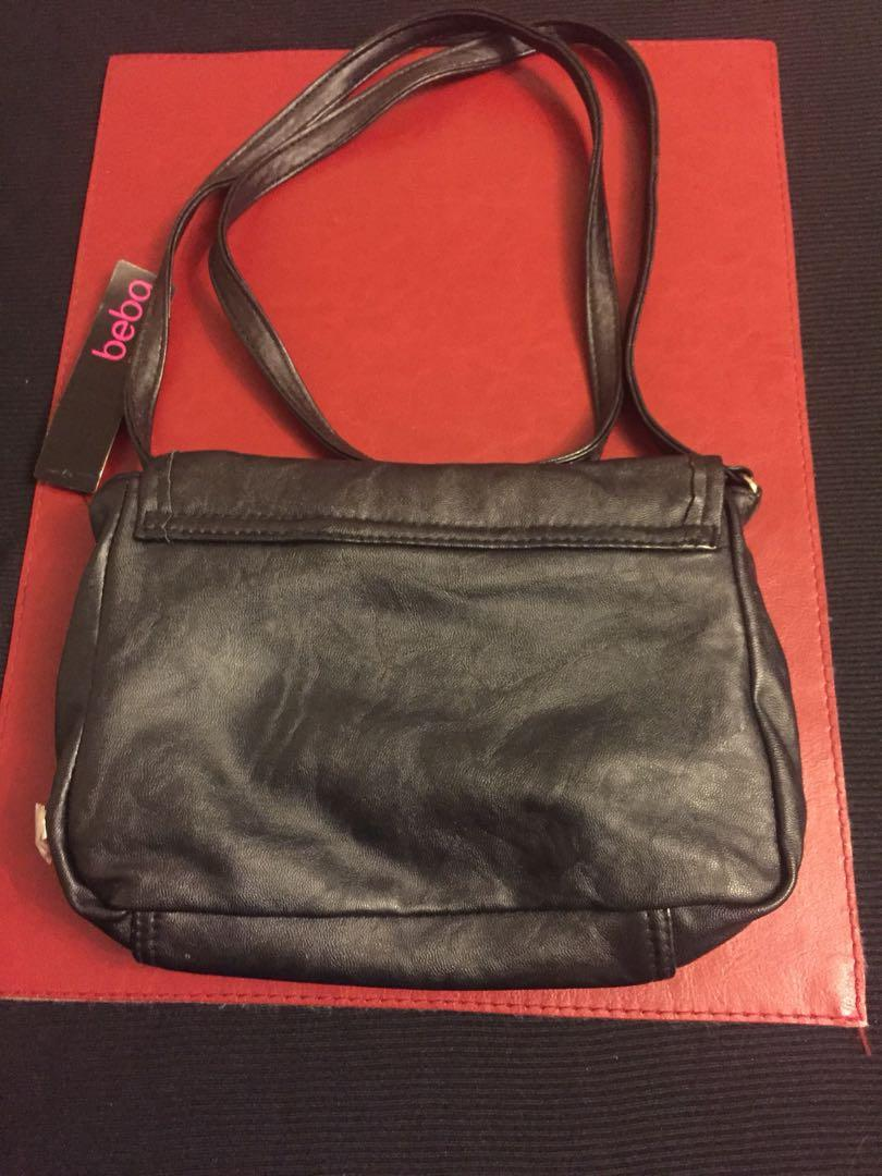 Brand new beba accessories black handbag / cross body bag / shoulder bag