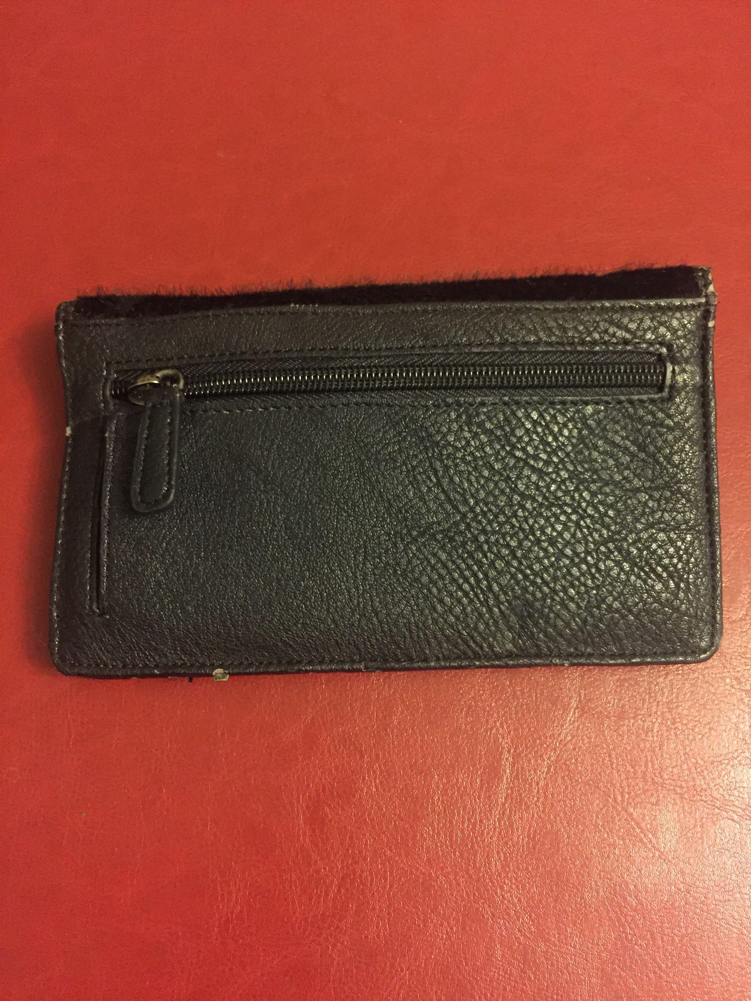 Brand new Fiorelli black synthetic fur and leather purse