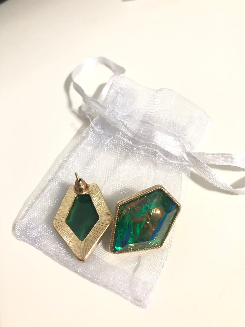 Brand new gem earrings