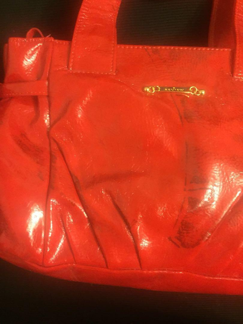 Brand new Review red handbag with tags