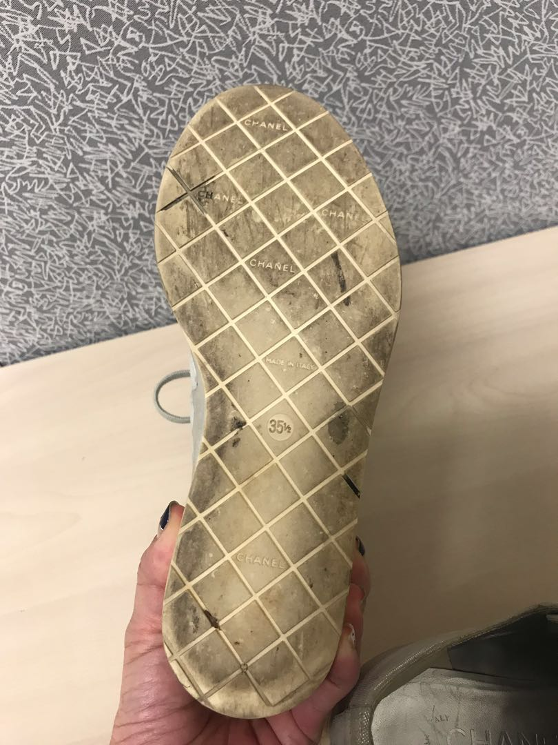 f7506113ff0 Chanel platform shoes creepers Sz36