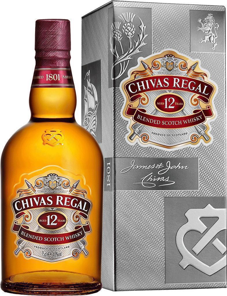 5e7906190e8 Chivas Regal 12 Year Old Blended Scotch Whisky 750ml, Food & Drinks ...