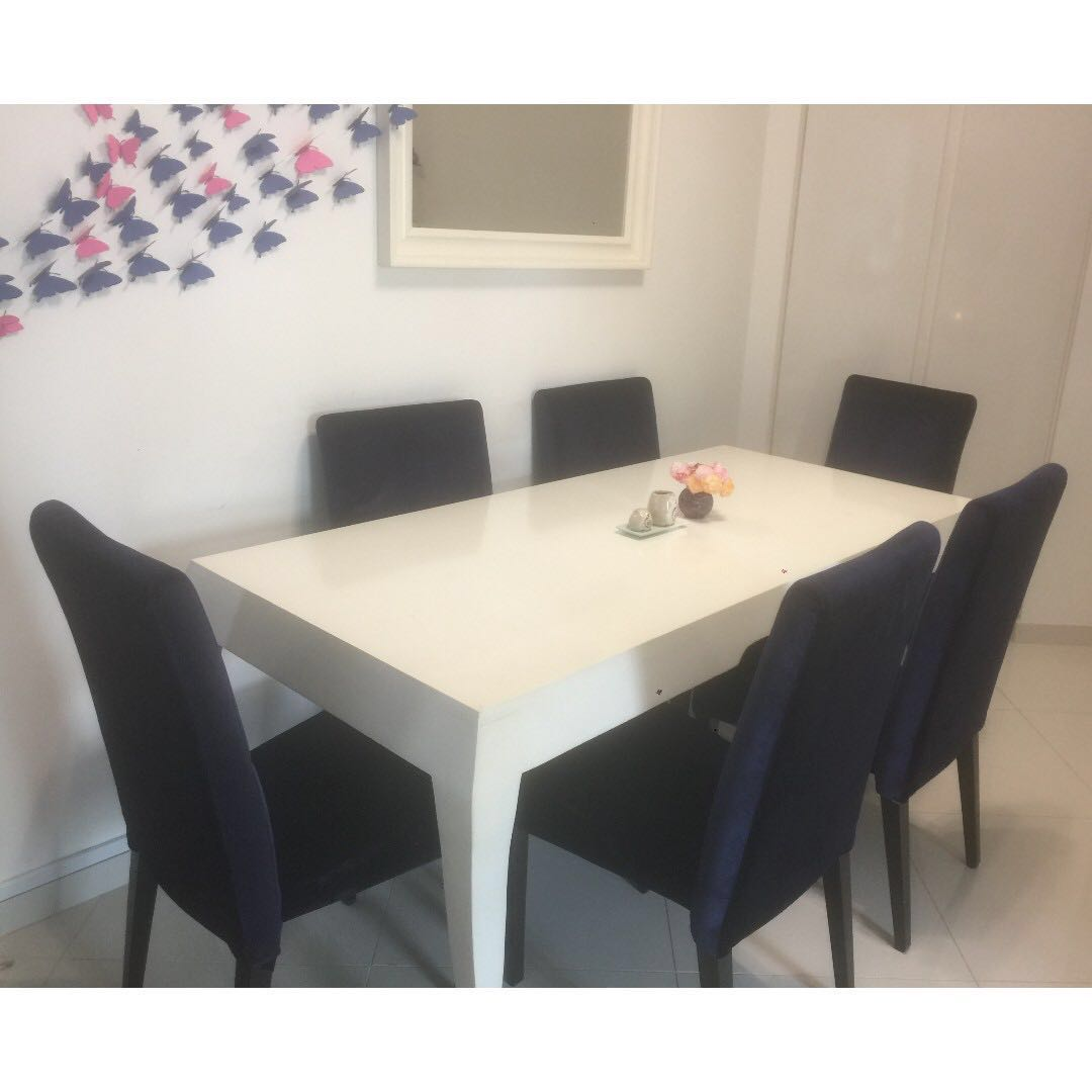 Dining Table Furniture Tables Chairs On Carousell