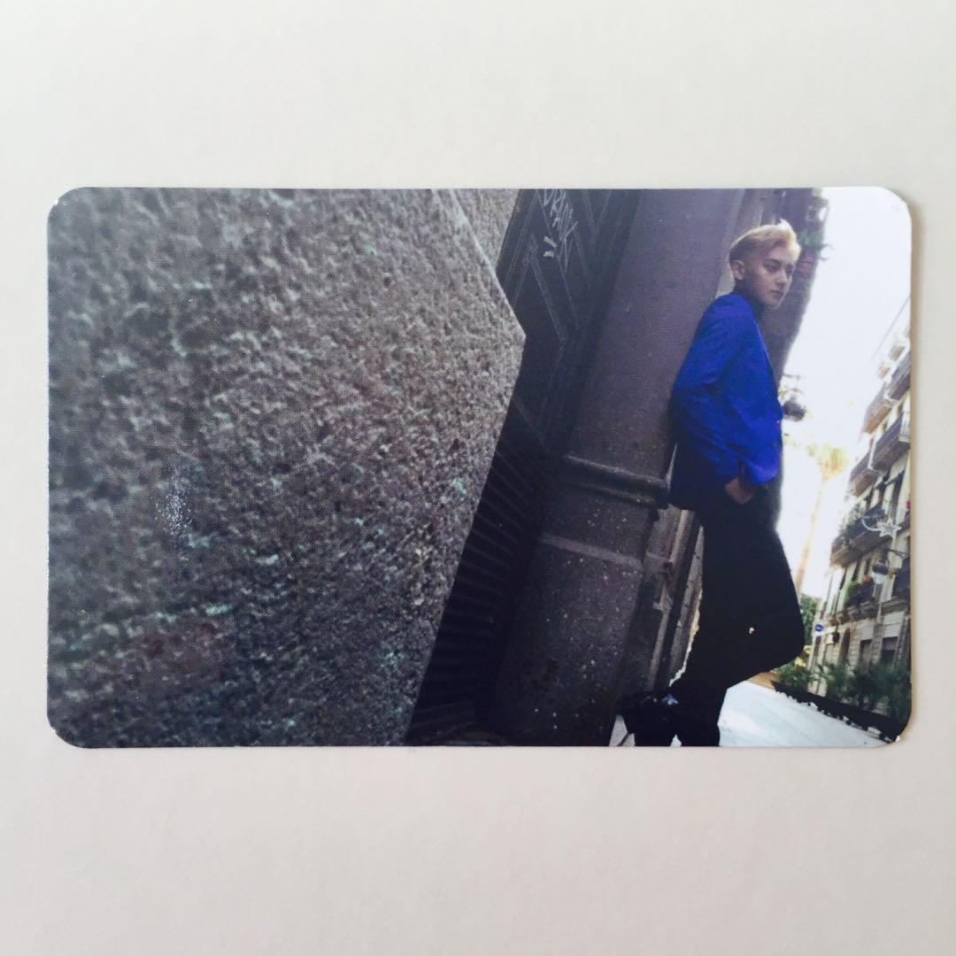 EXO Exodus TAO Official Chinese Black Version Photocard