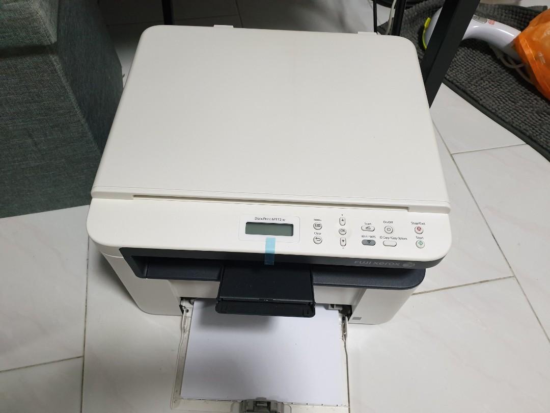 Fuji Xerox Printer DocuPrint M115w with new $50 Toner