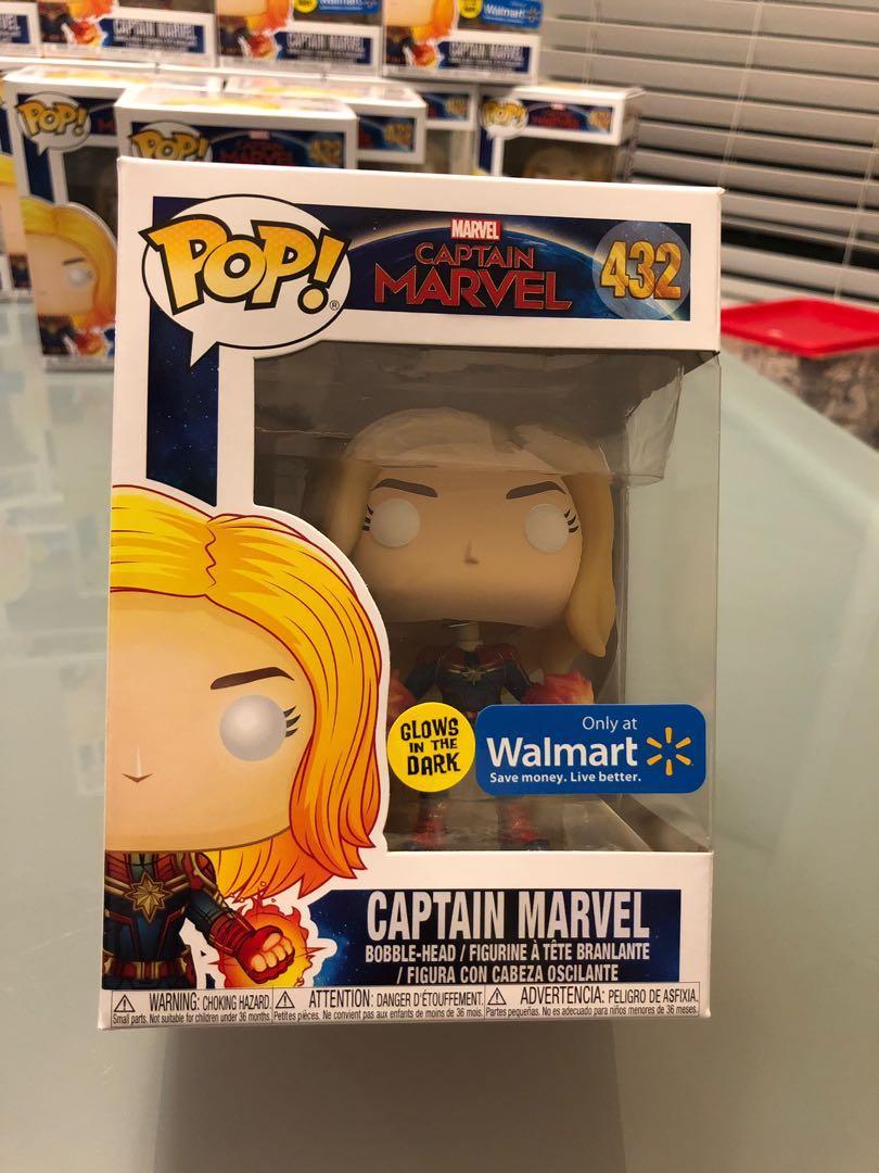 Funko pop - Captain Marvel #432, Walmart exclusive