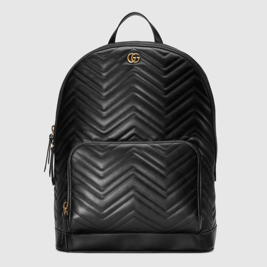 d5cb950d7 Gucci GG Marmont matelassé backpack, Women's Fashion, Bags & Wallets ...
