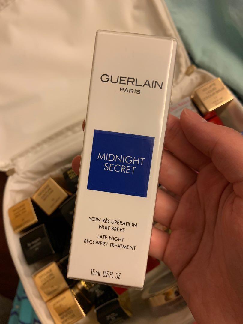 Guerlain嬌蘭 -midnight secret 熬夜霜 15ml