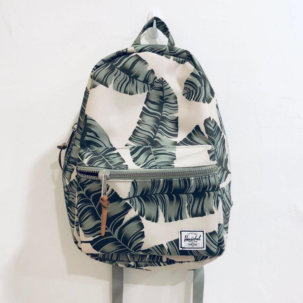 f11ae7527fd296 Herschel XS Grove backpack in Silver birch palm, Women's Fashion ...