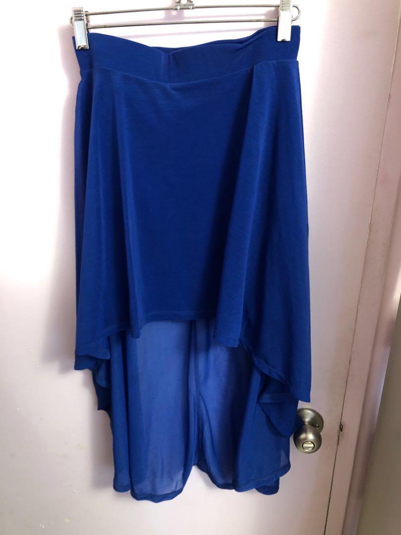H&M high-low skirt