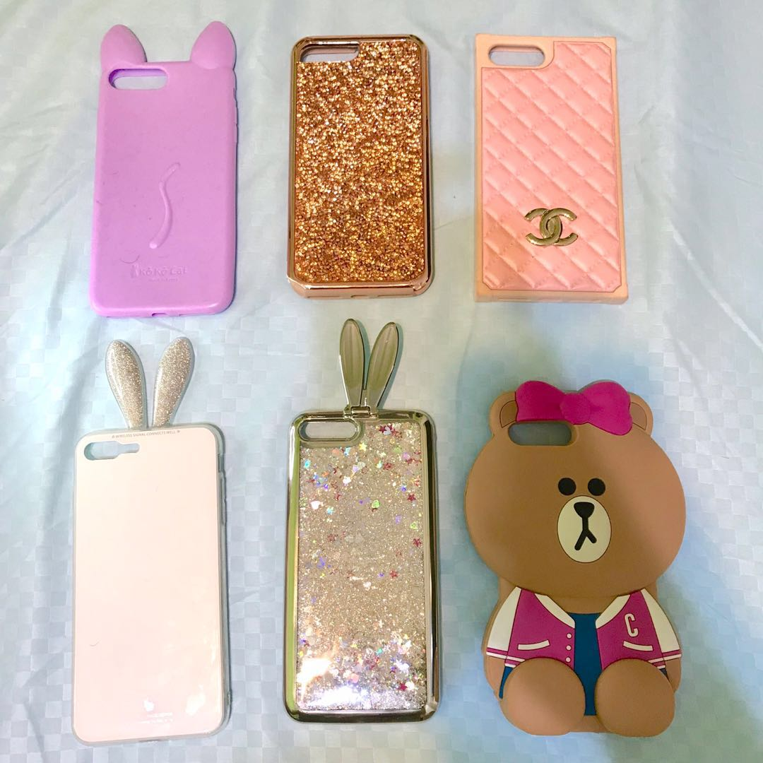 the latest 3b6bf 21be5 HUGE COLLECTION ! Iphone 7 Plus Cute Girly Glitter Case