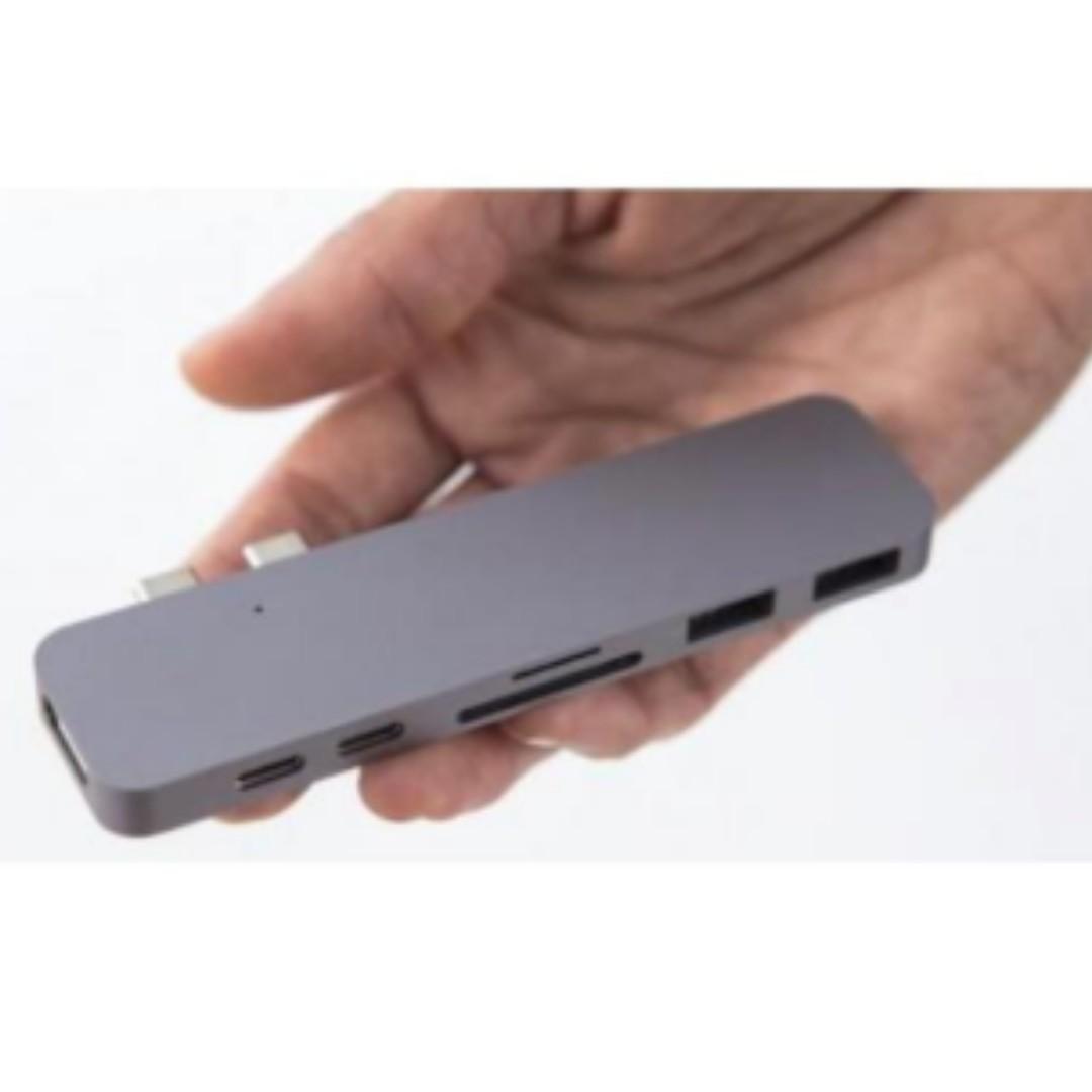 HyperDrive Thunderbolt 3USB-C外接式轉接器 - 太空灰/銀色 行貨現貨