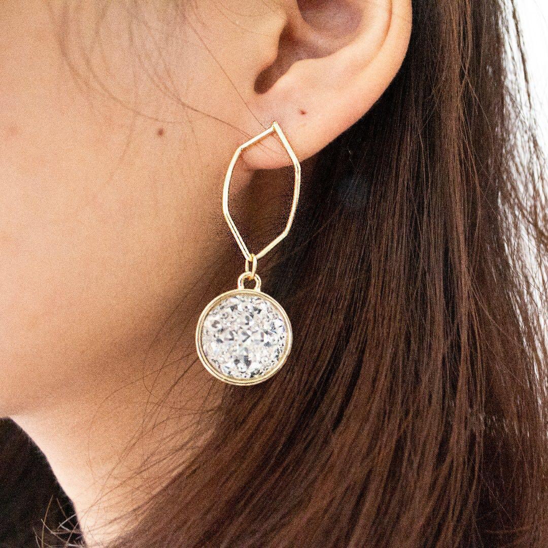 [Instock] Chandelier Earrings