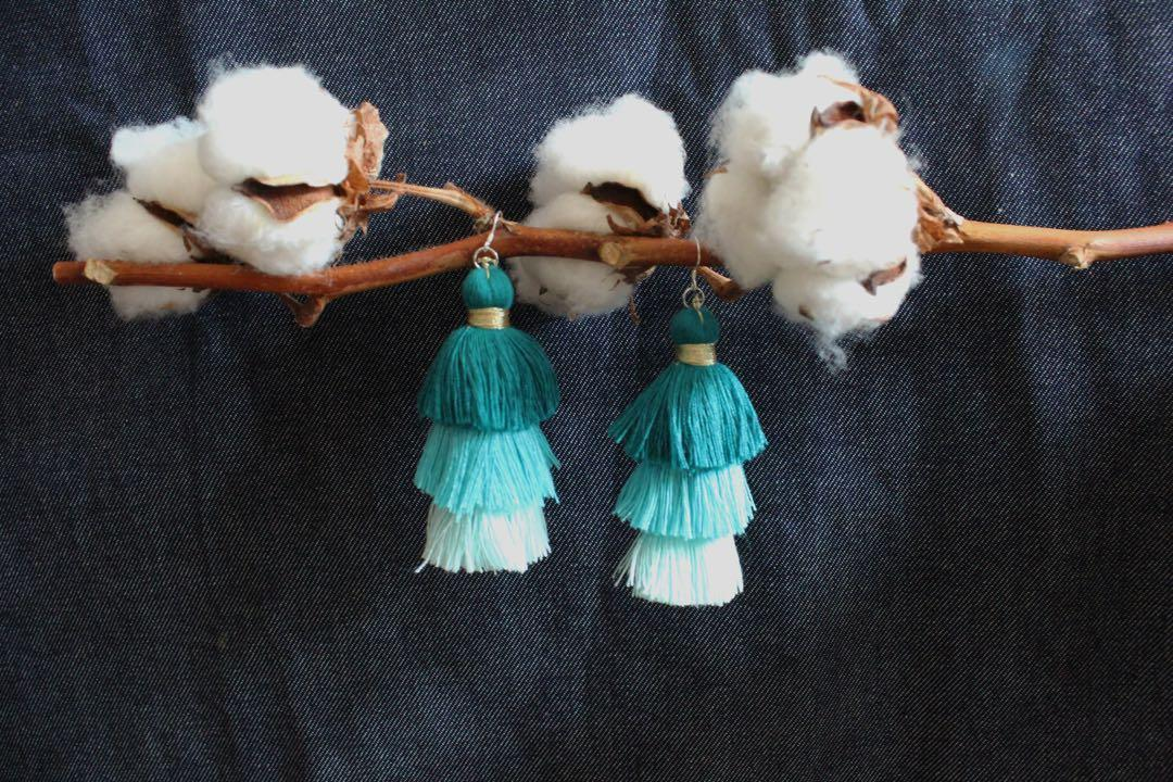 [Instock premium] Ivia Tassel Earrings
