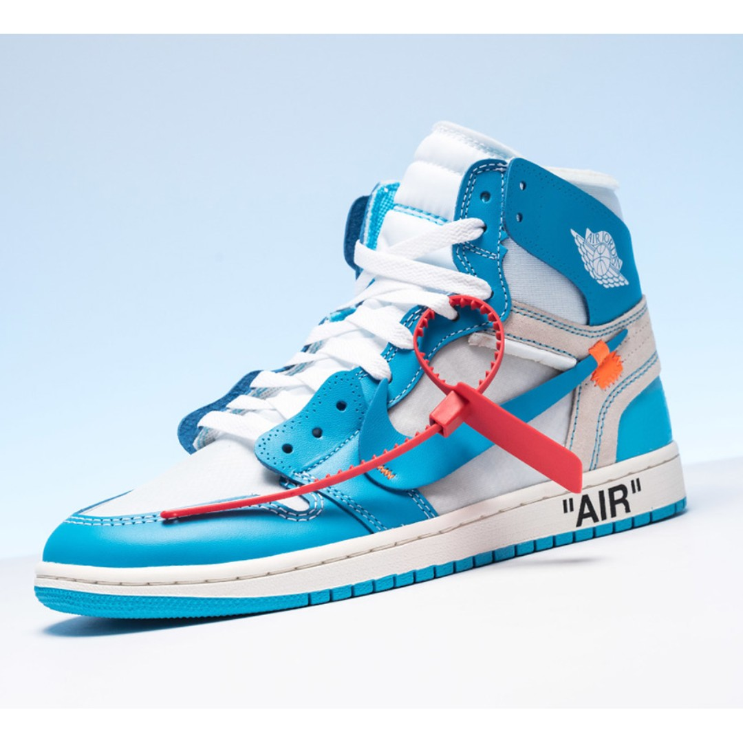 d2902104dbd1de Jordan 1 Retro High Off-White University Blue