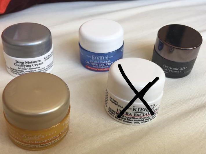 Kiehls moisturisers