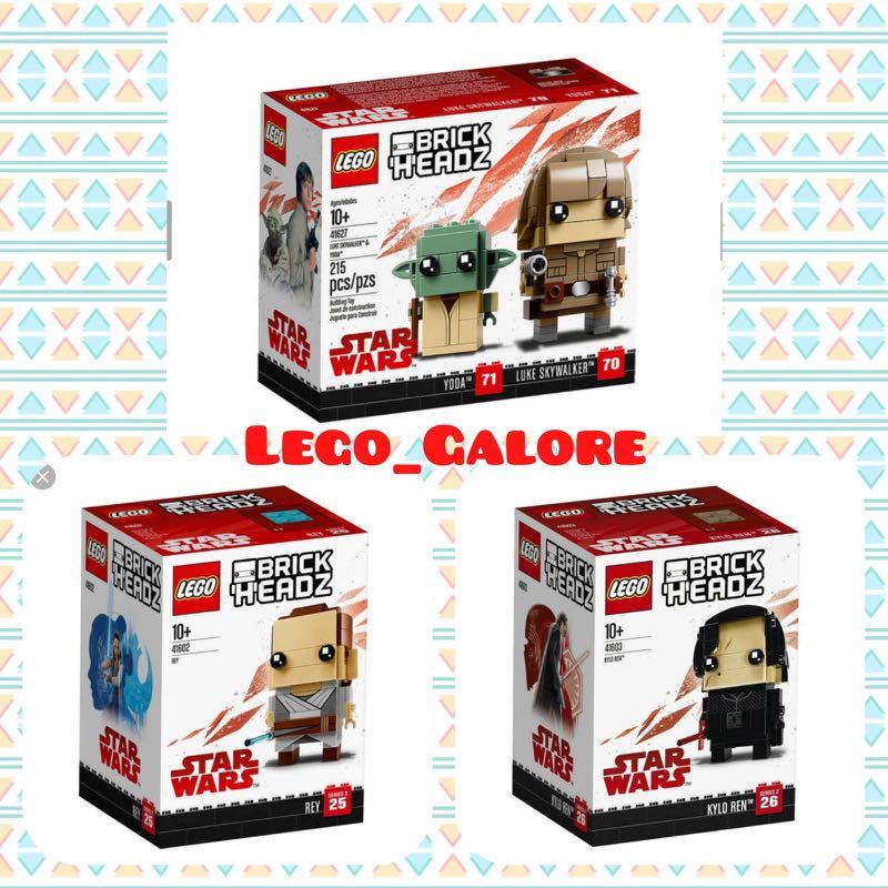 Lego Brickheadz Star Wars 416274160241603 Toys Games Bricks