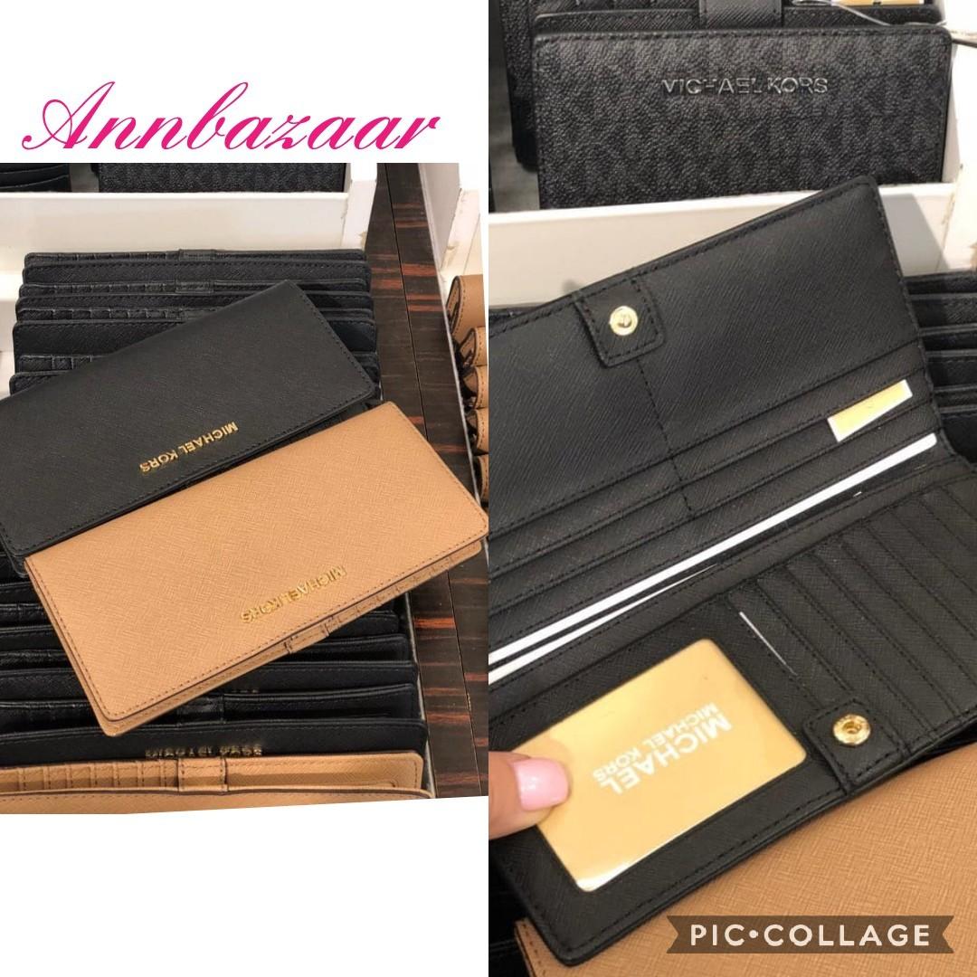 51bbae6c0e976e Michael Kors Jet Set Flat Bifold Slim Wallet (100% Authentic), Women's  Fashion, Bags & Wallets, Wallets on Carousell