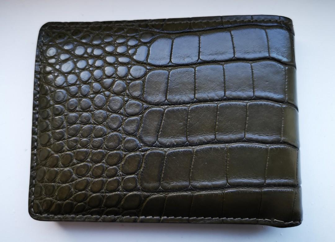 de610f759415 Louis Vuitton Croc Wallet Men's, Luxury, Bags & Wallets, Wallets on ...