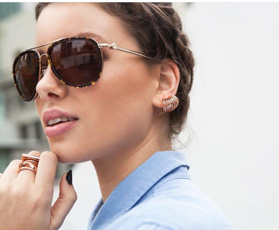Mimco Daybreak aviator sunglasses RRP $179