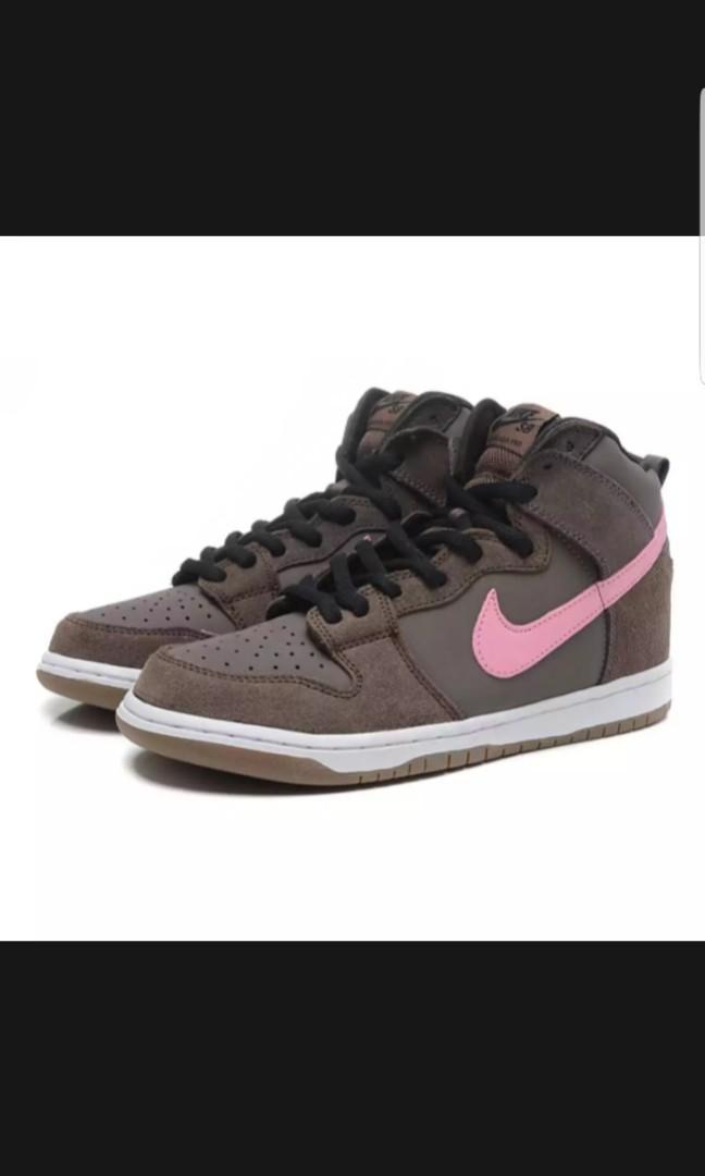 Nike Dunk SB High Chocolate Pink US 9