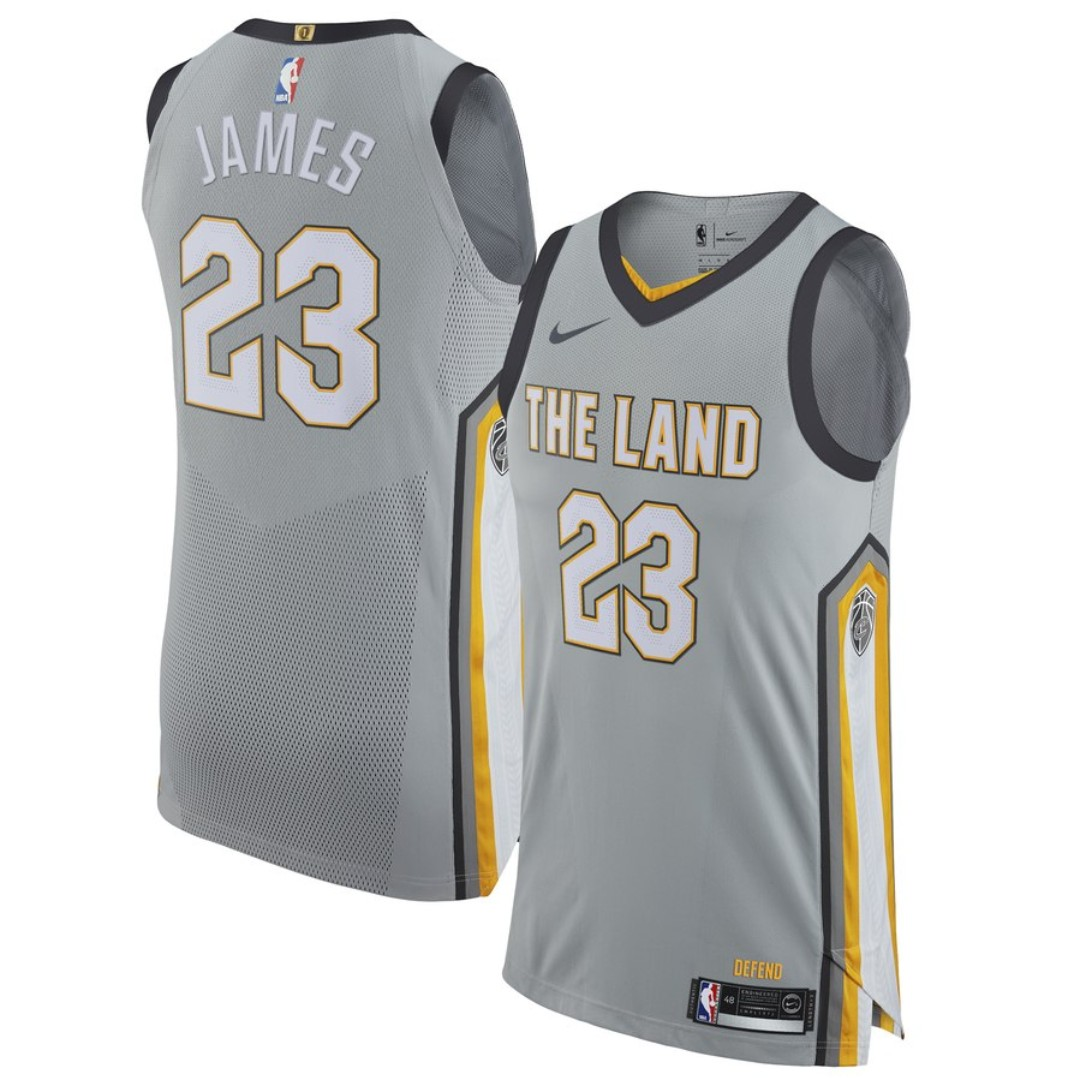 new product 3539d a5dbe Nike Lebron James cavs jersey city edition