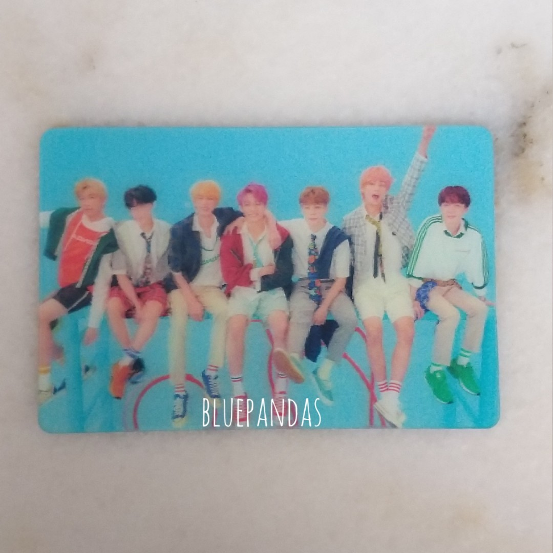 official  rare bts love yourself answer special lenticular photocard 1551094578 e2fa0d0c