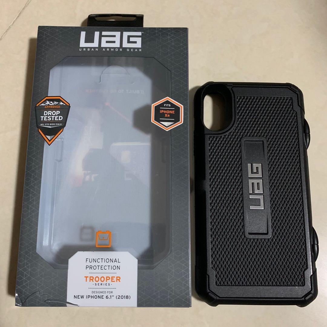 new product 81af4 d2f8d Original UAG Trooper Series Black Casing for iPhone XR