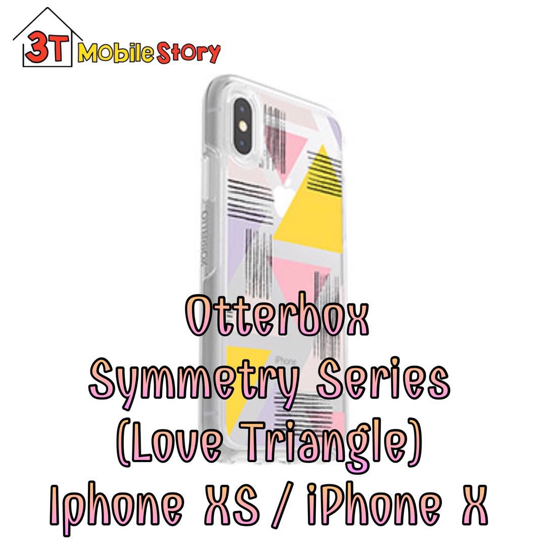 competitive price 57160 10aa8 Otterbox Symmetry (Love Triangle) iPhone XS / iPhone X