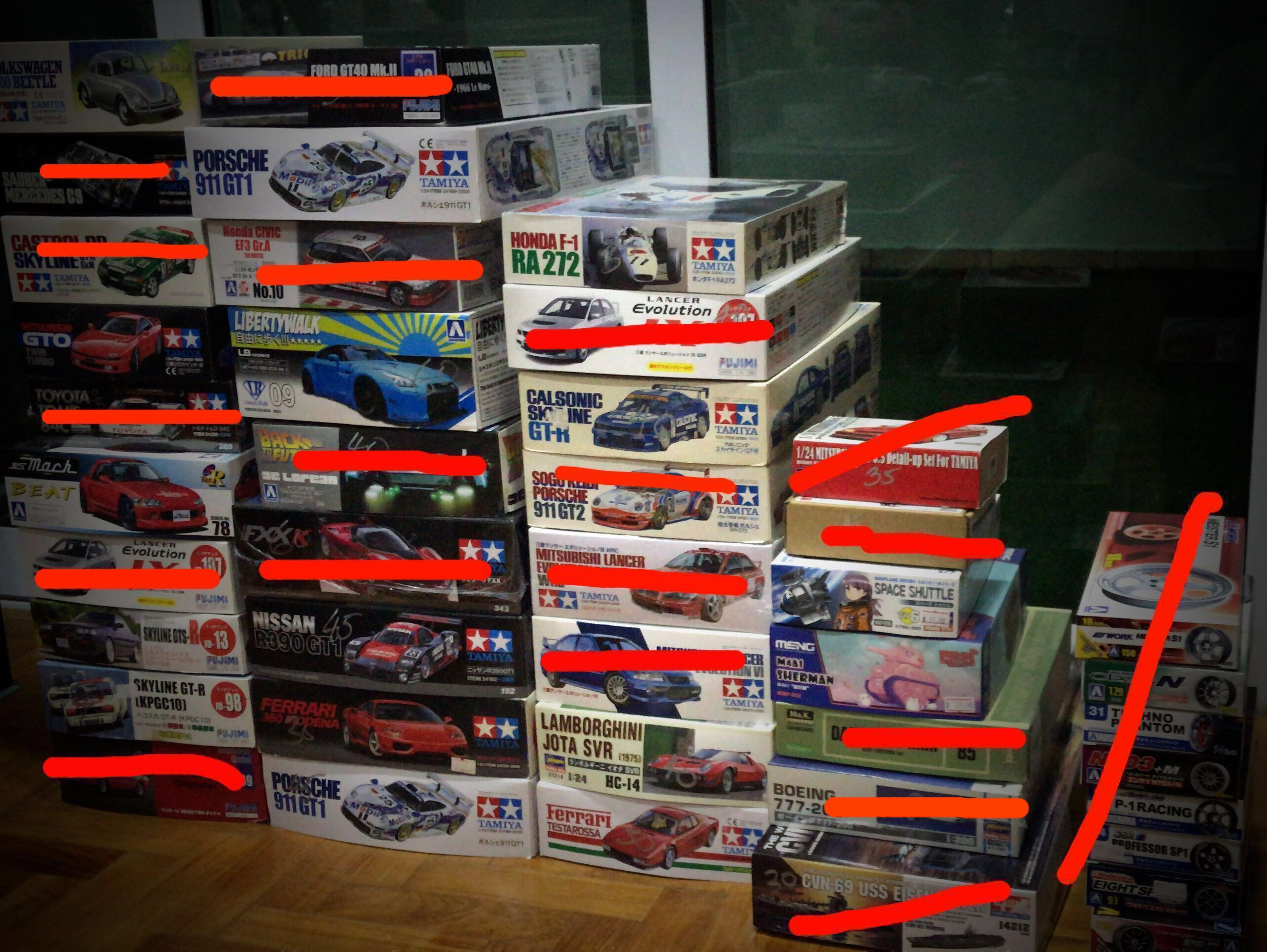 Plastic Model Kits Toys Games Others On Carousell