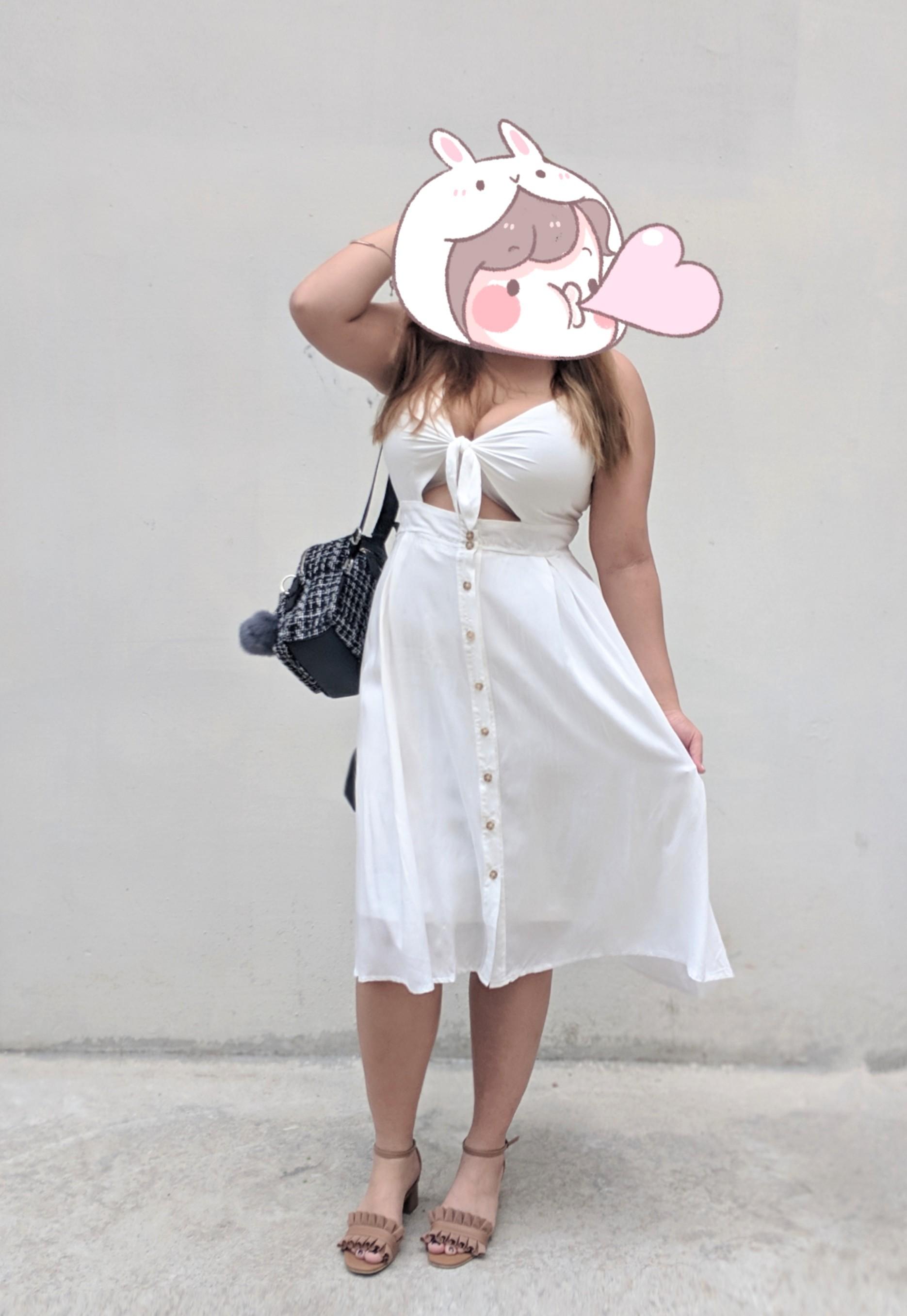 Plus Size White Beach Dresses - raveitsafe