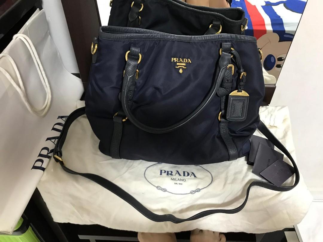 828ba50d5a5492 Prada tessuto, Luxury, Bags & Wallets, Handbags on Carousell