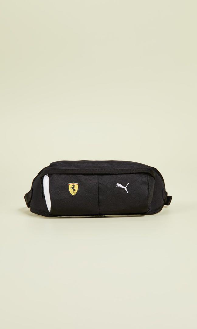 Puma Black Ferrari Shield Waist Sling Pouch dc2d0f45e1e24
