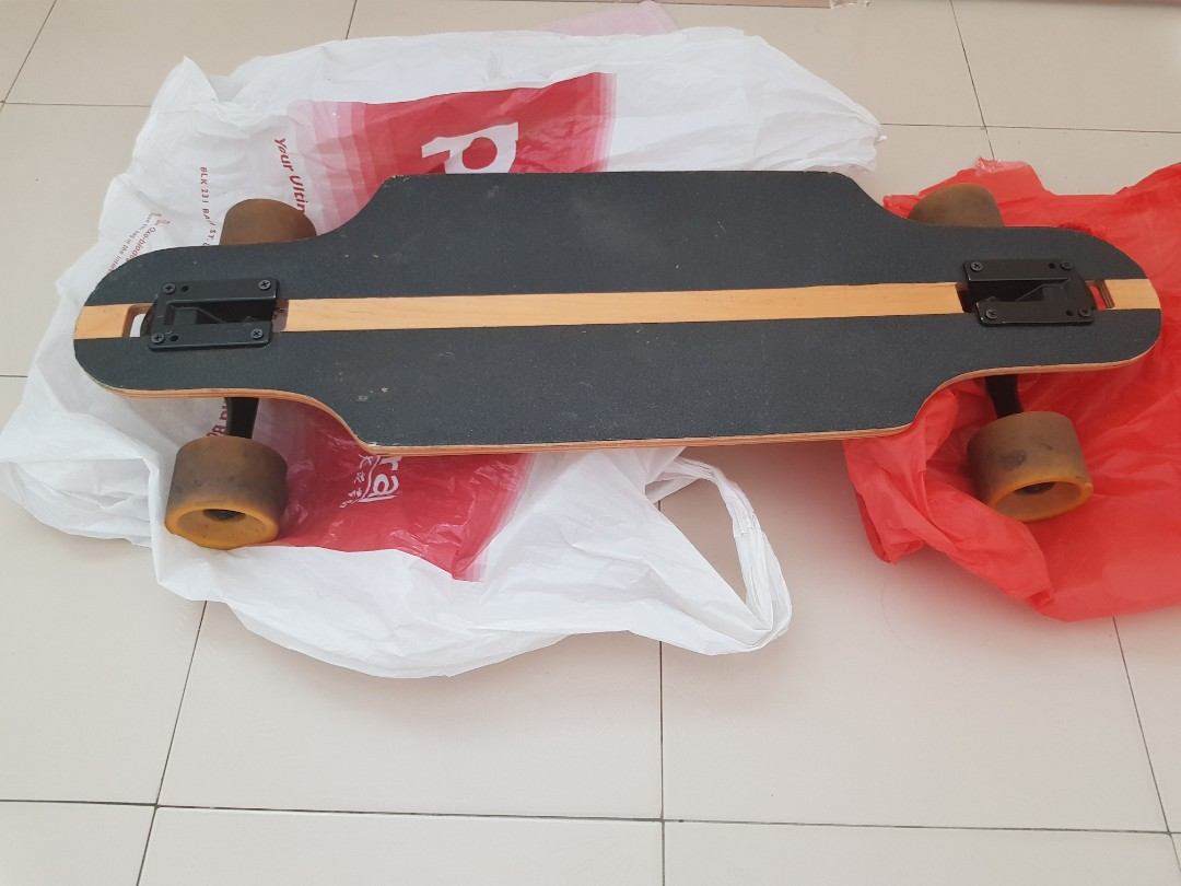 1d5727e6 Skateboard(longboard) from SCAPE@418 skate shop. Looking for trade ...