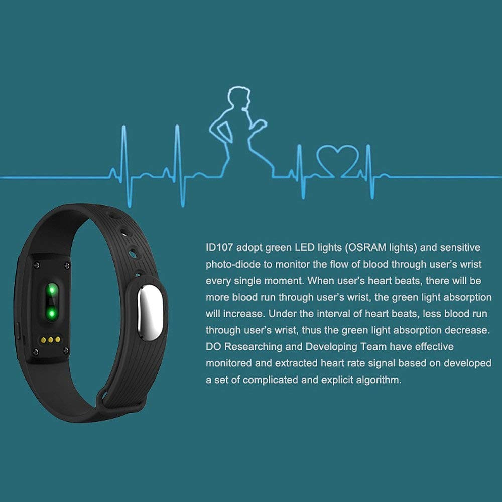 Smart Watch Men Women Bracelet Heart Rate Monitor Wristband Fitness Bracelet For Android Ios Pk Xiomi Mi Band 2 Fitbits Smart As Effectively As A Fairy Does Watches
