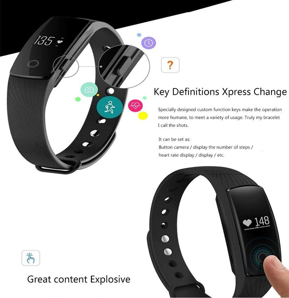 Men's Watches Smart Watch Men Women Bracelet Heart Rate Monitor Wristband Fitness Bracelet For Android Ios Pk Xiomi Mi Band 2 Fitbits Smart As Effectively As A Fairy Does Watches