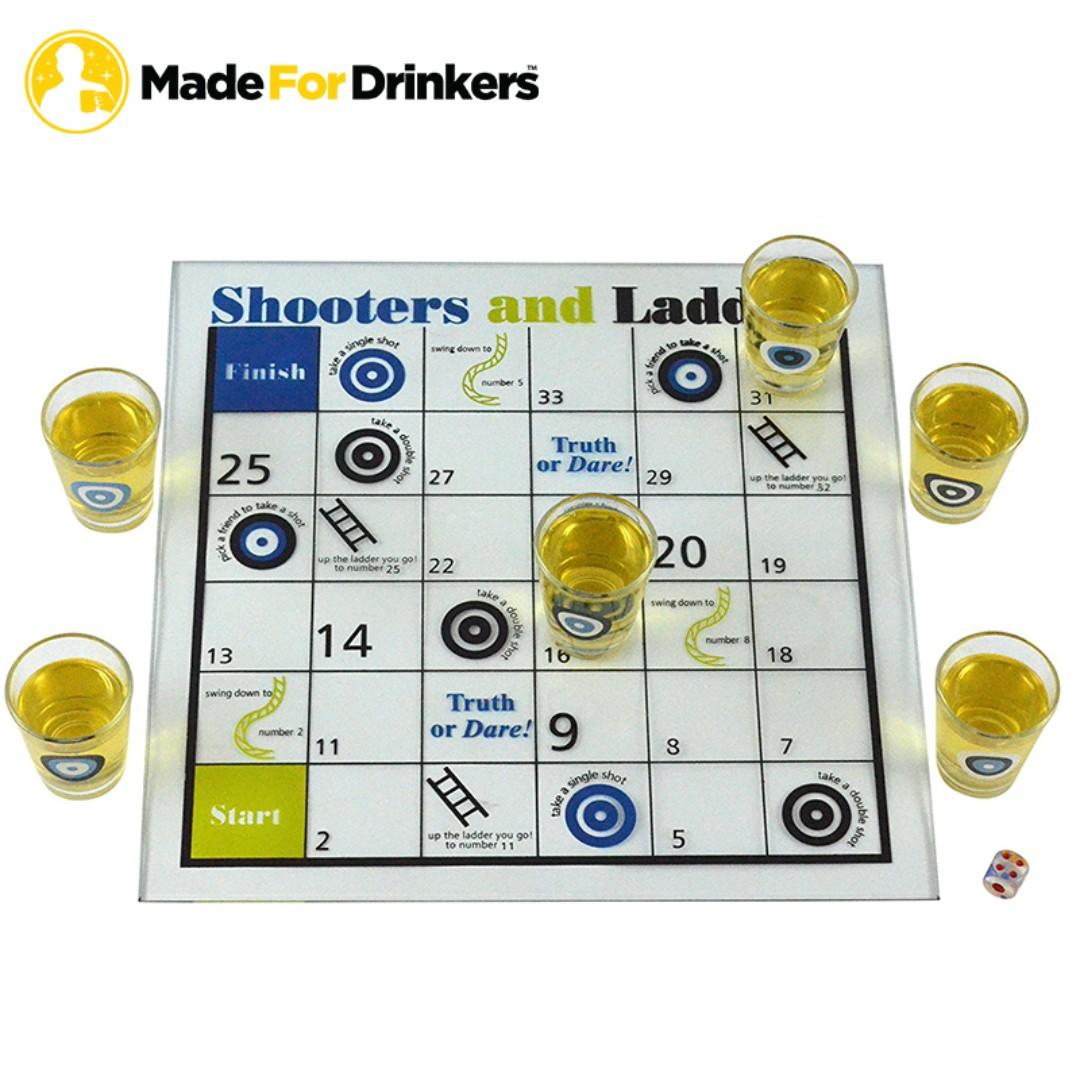 Snakes and Ladders Drinking Game, Toys & Games, Others on