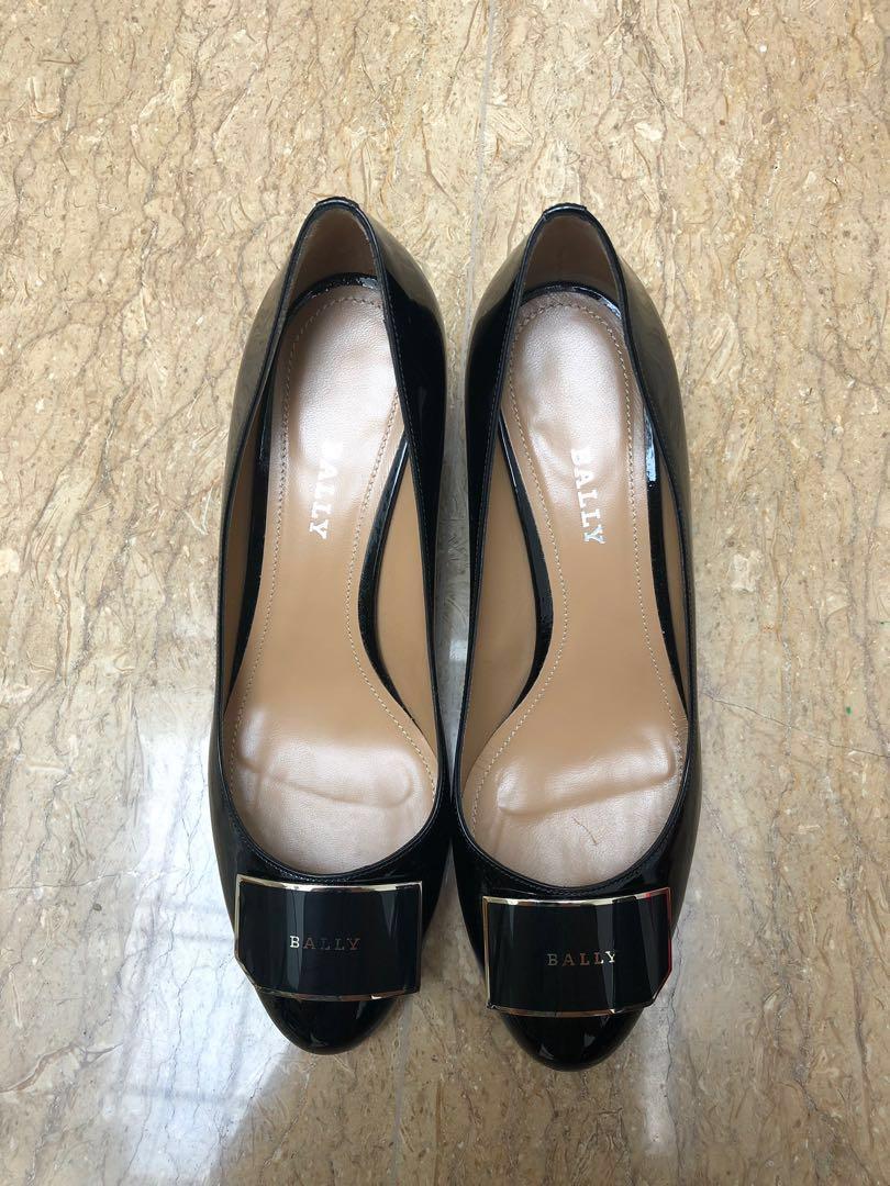 Sepatu Bally, LIKE NEW, black calf 37 in original box
