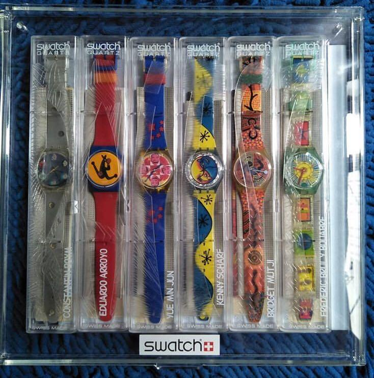 swatch limited artist edition