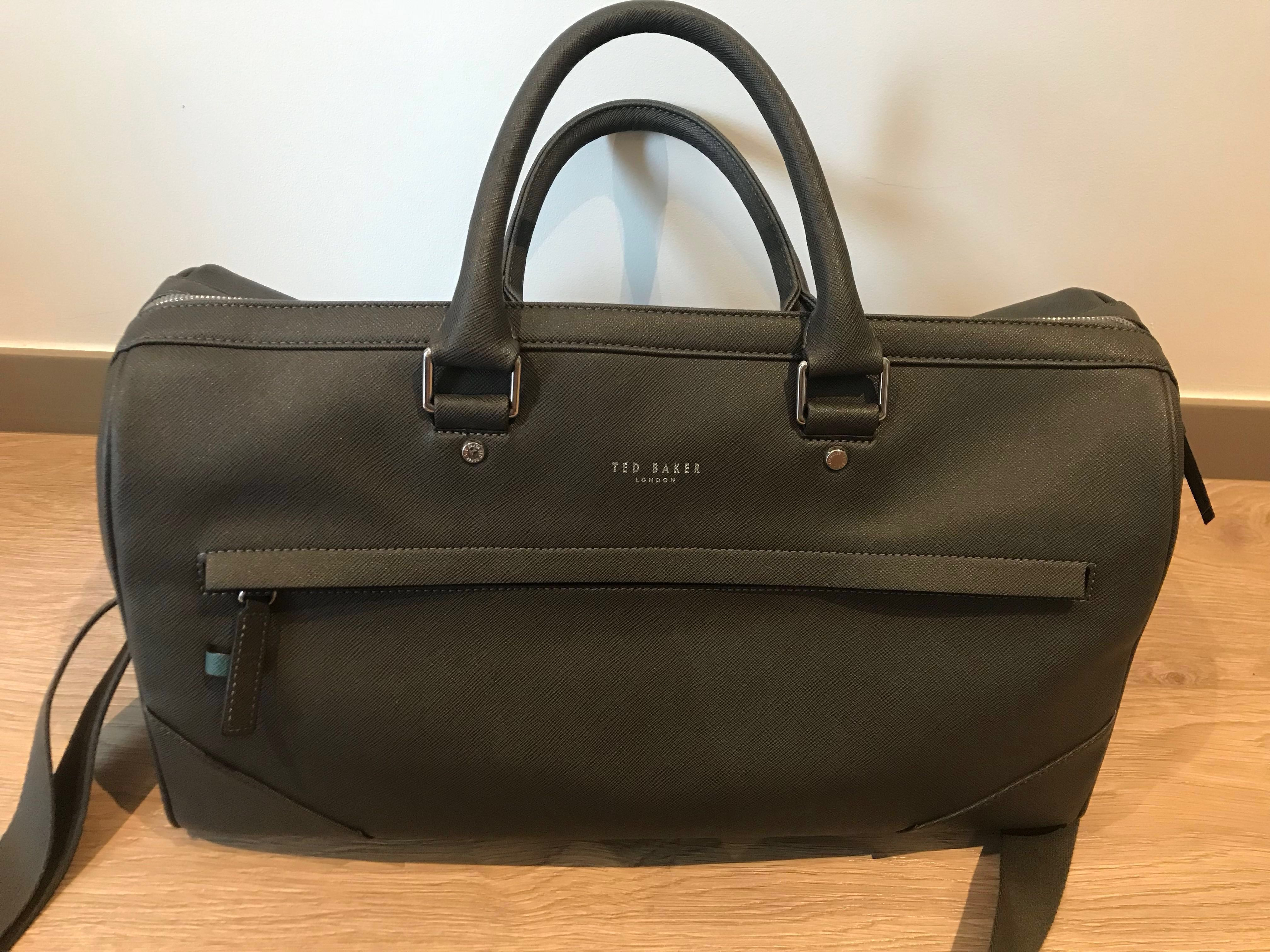 08b683c8ab9e Ted Baker Duffel bag in Charcoal Grey