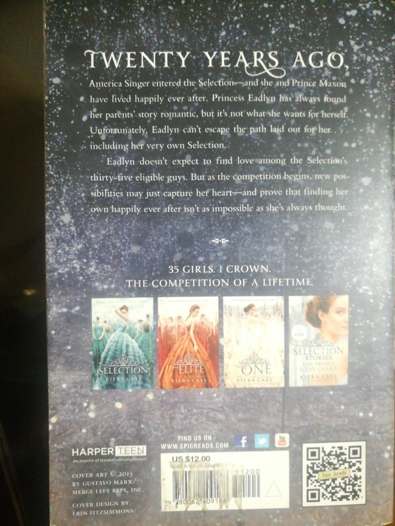 The Selection Series Book 4: The Heir (Repriced)