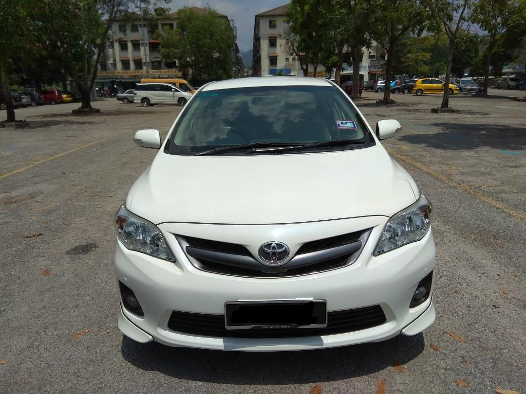 TOYOTA ALTIS 1.8 (A) DUAL VVT-i  FULL SERVICE RECORD 1 OWNER LOW MILEAGE 0122298811