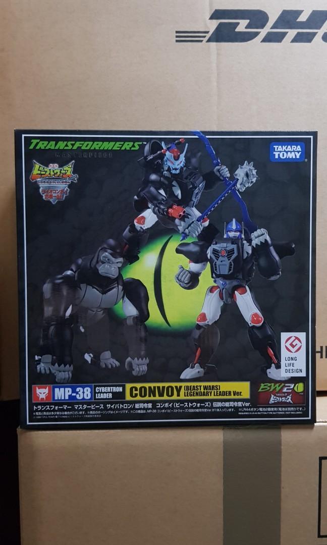Transformers TOY TAKARA Masterpiece MP-38 Beast Wars Legendary Leader Convoy NEW